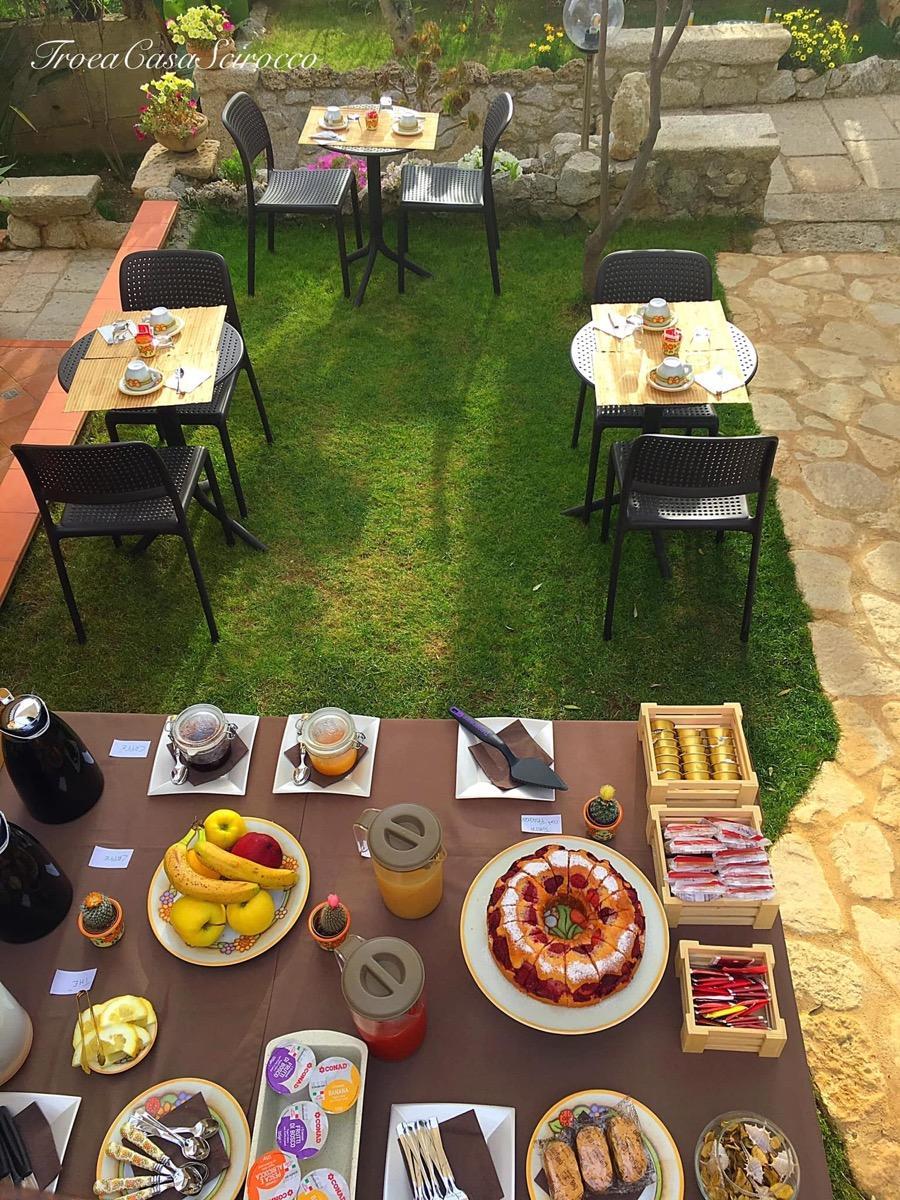 La colazione di CASA SCIROCCO