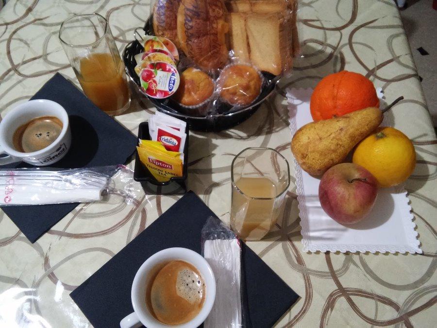 La colazione di LA VALLE DI BERNARDO