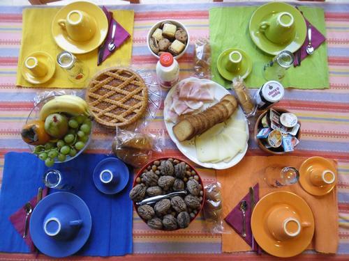 La colazione di SPAZIO MAINARDE COUNTRY HOUSE B&B