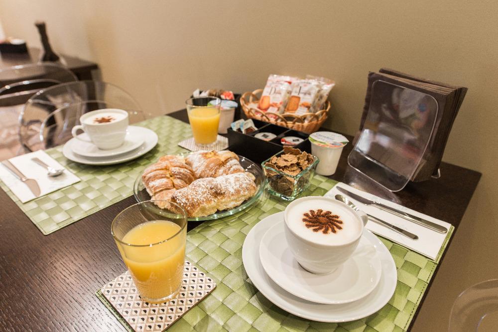 La colazione di GEMELLI ROOMS