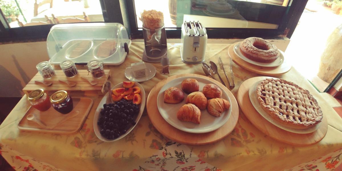 La colazione di LA PIANA DEGLI ULIVI