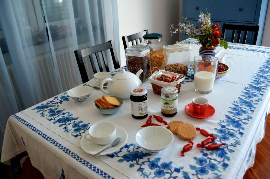 La colazione di GLI ANEMONI B&B