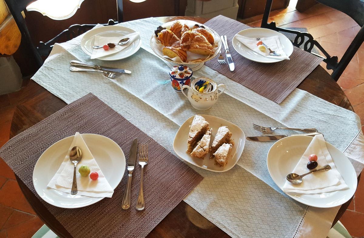 La colazione di VILLA COLLE OLIVI RELAIS RURALE