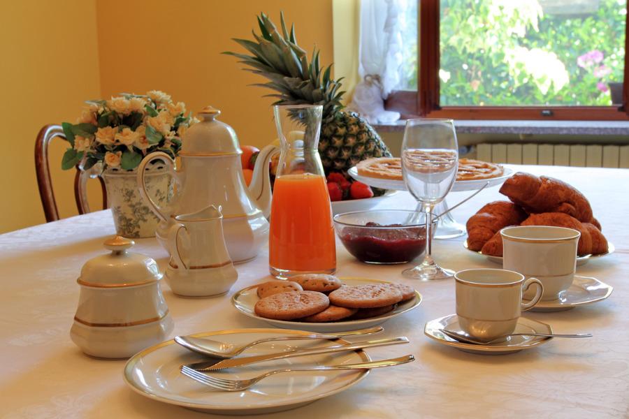 La colazione di IL GIARDINO SUL LAGO