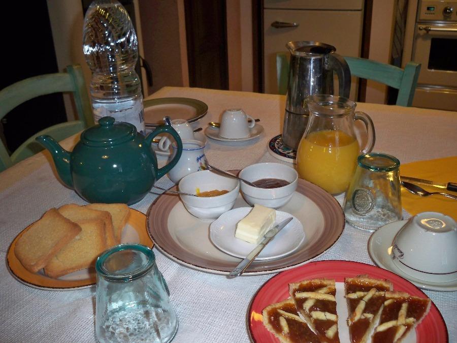 La colazione di A CASA DI ROSA