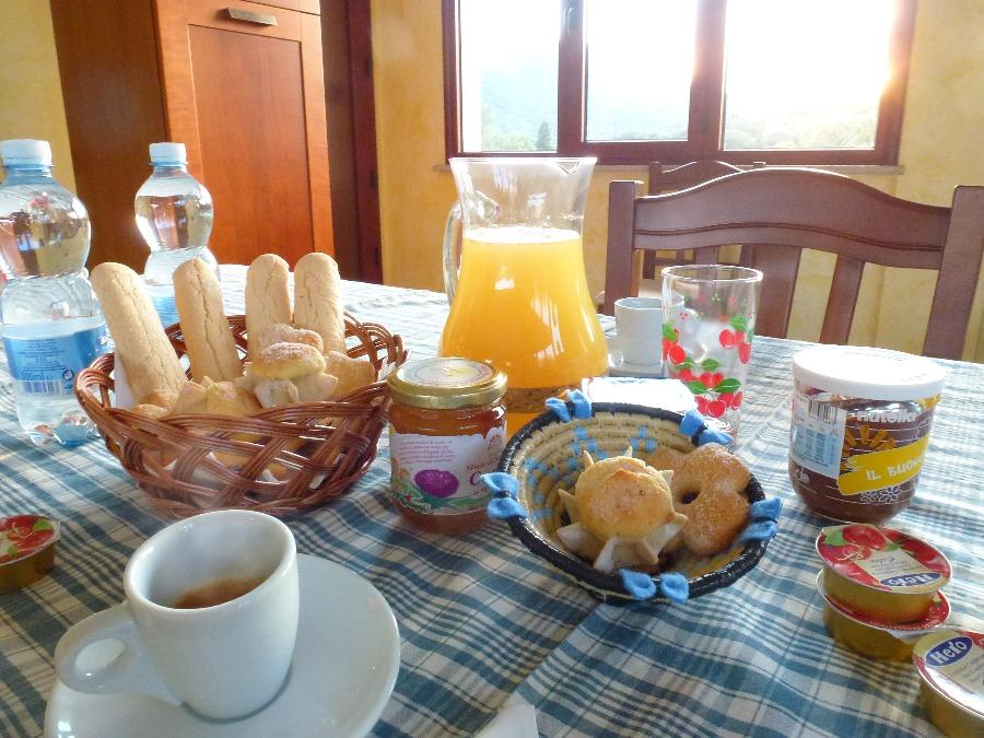 La colazione di SU FRASCU SEGAU