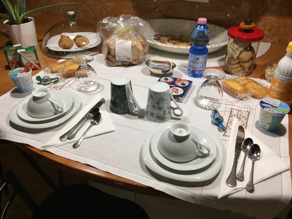 La colazione di APARTMENT DELUX