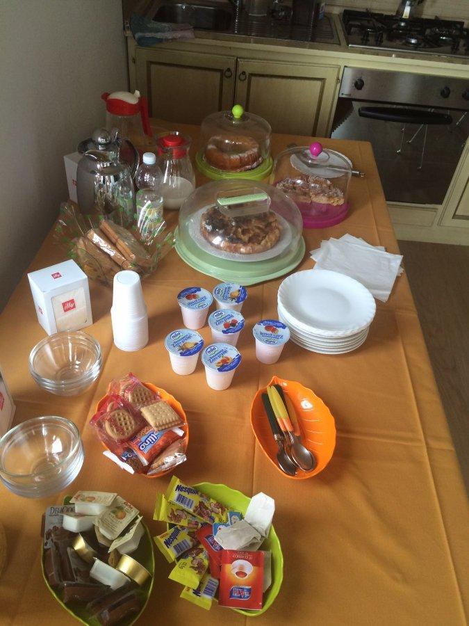 La colazione di VILLA ORI