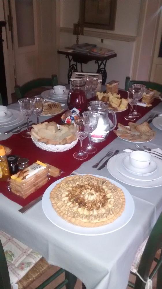 La colazione di B&B LE CASELLE