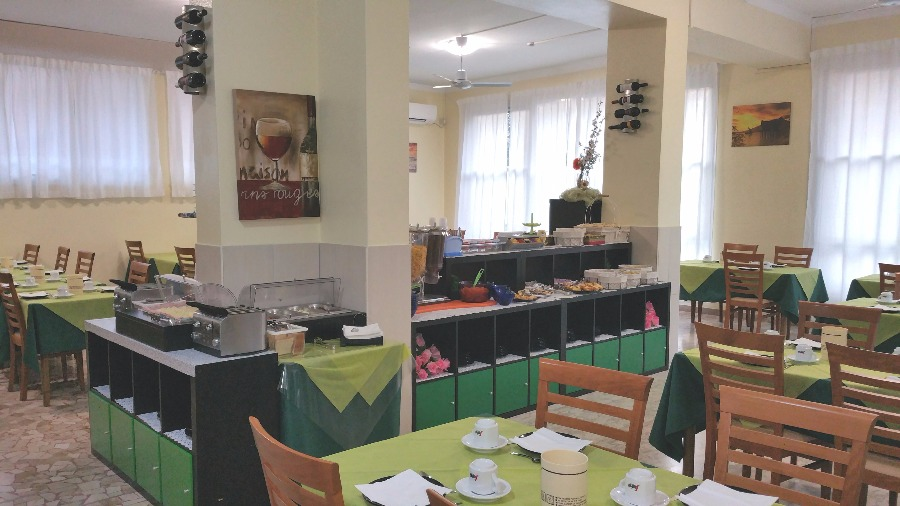 La colazione di HOTEL WEEK-END