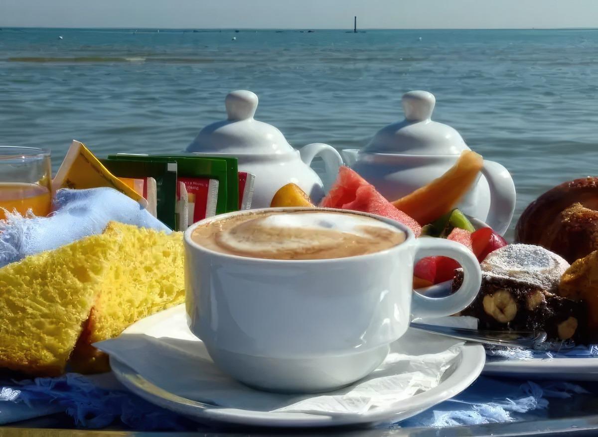 La colazione di LE SPIAGGE B&B