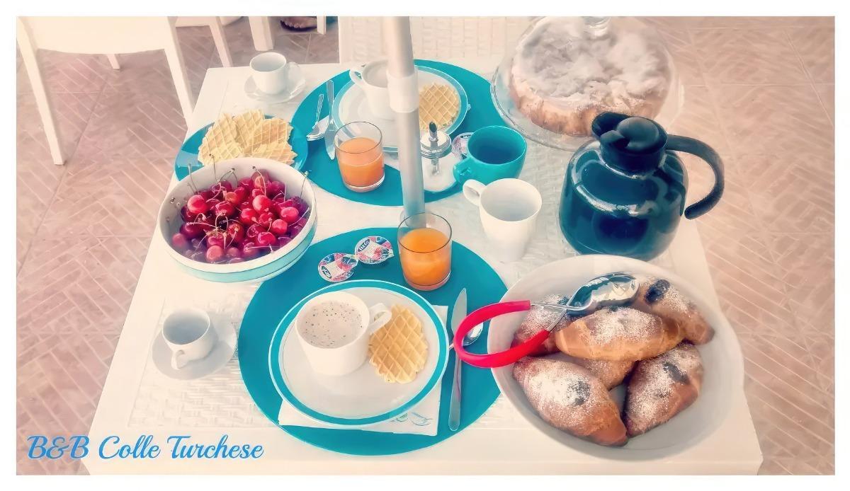 La colazione di B&B COLLE TURCHESE