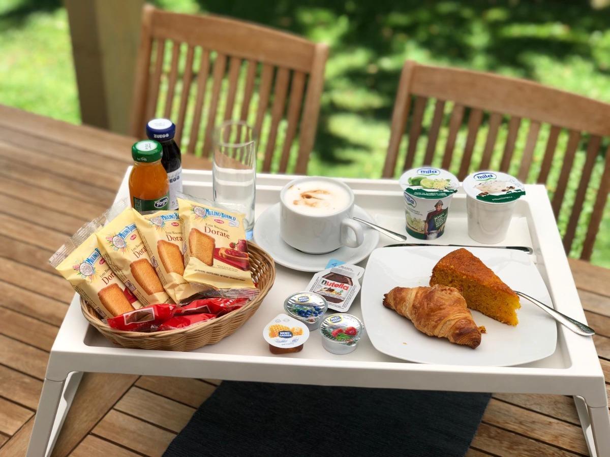 La colazione di B&B CASA VANZETTA