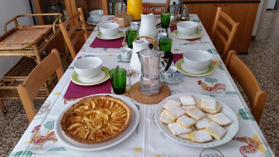 La colazione di LA CÀ DEL BAGATEL B&B