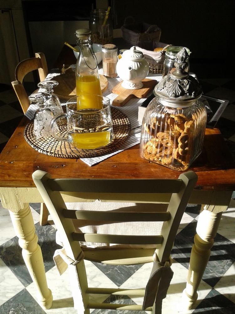 La colazione di VALÉRY GUEST HOUSE