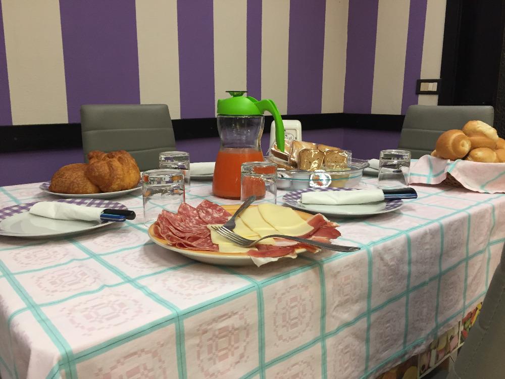 La colazione di B&B ORCHIDEA BIANCA