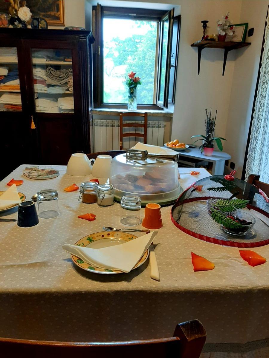 La colazione di IL CASALE DI AURORA