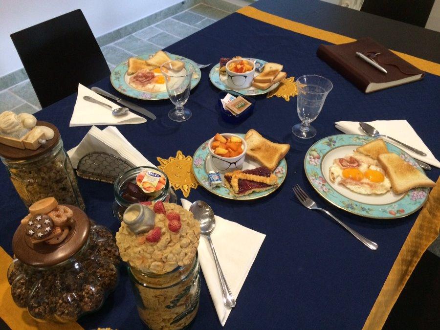 La colazione di IL SENTIERO DEI GOTI