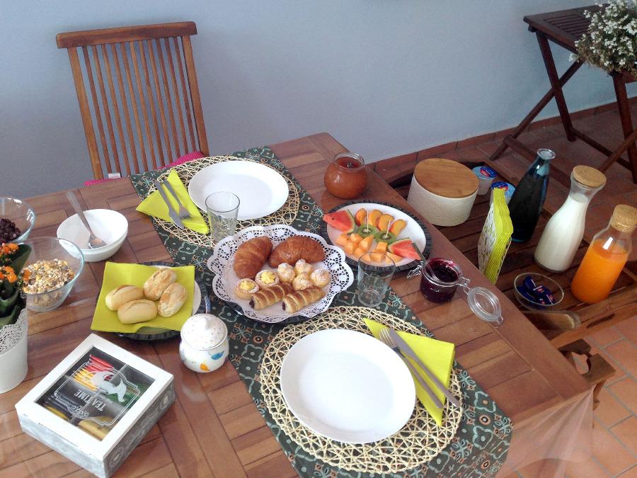 La colazione di B&B VILLA PARADISO