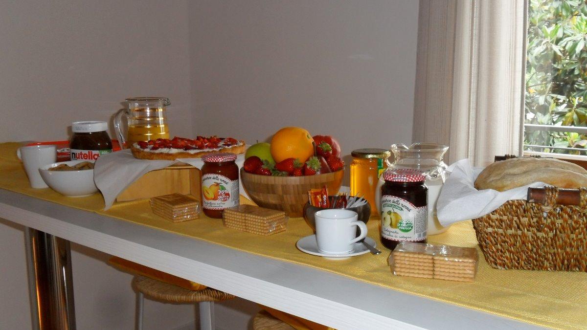 La colazione di BBINFIERA