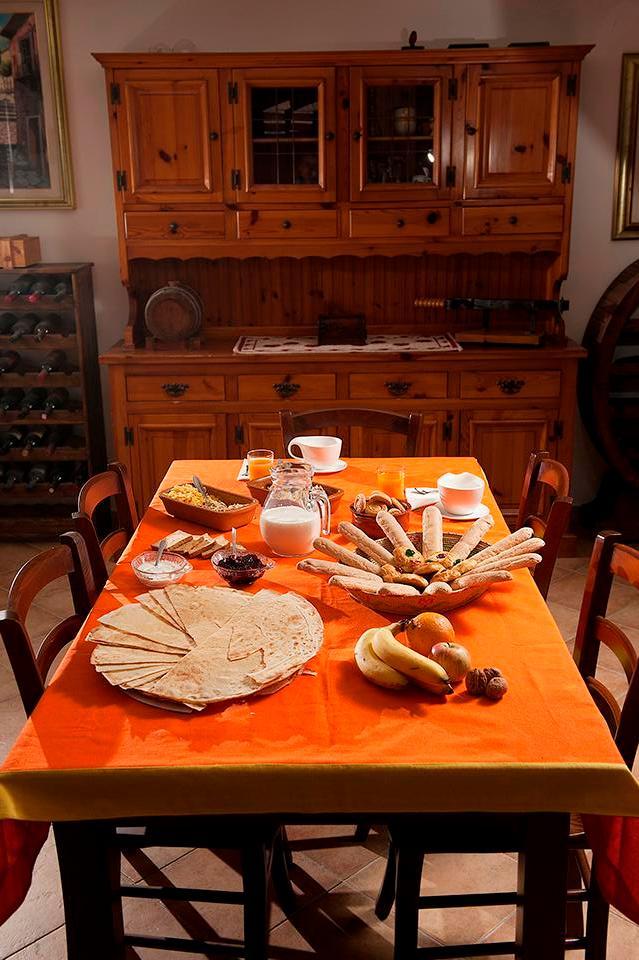 La colazione di B&B SANTU JUANNE