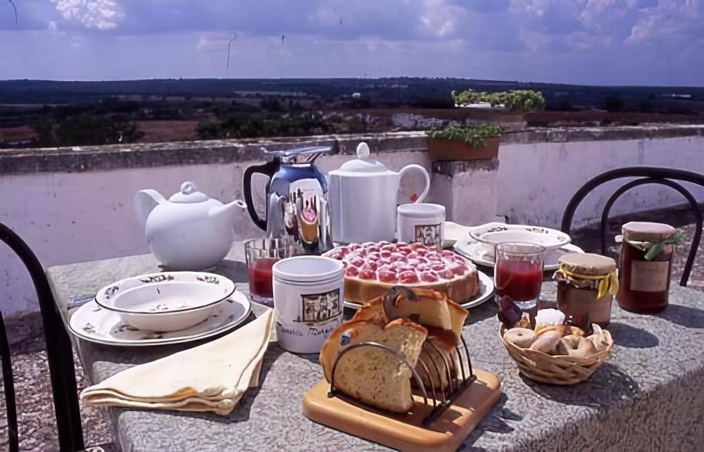 La colazione di MASSERIA MURGIA ALBANESE