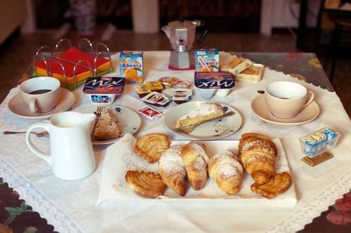 La colazione di LA VITA È BELLA