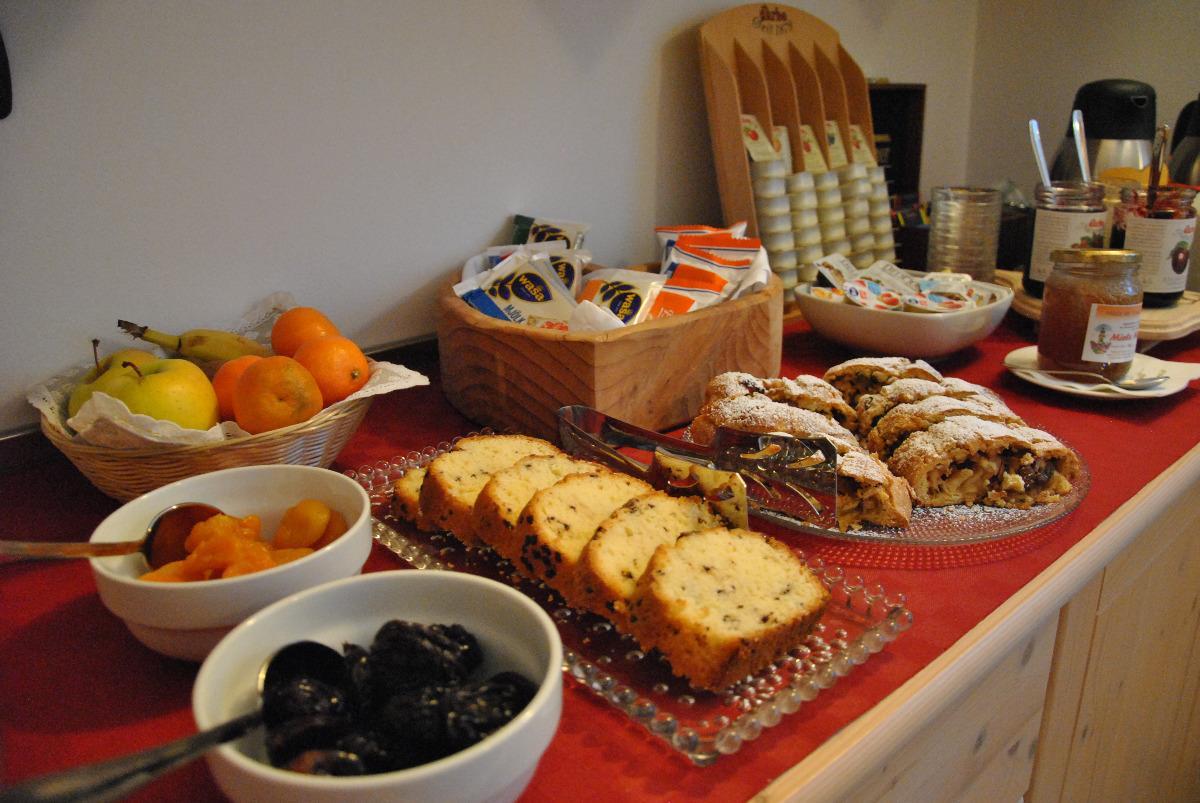 La colazione di VACANZE TRE CUORI, B&B E APPARTAMENTI