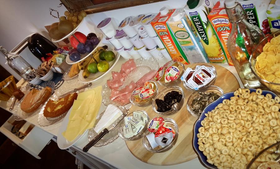 La colazione di ARMONIE DI VILLA INCONTRI