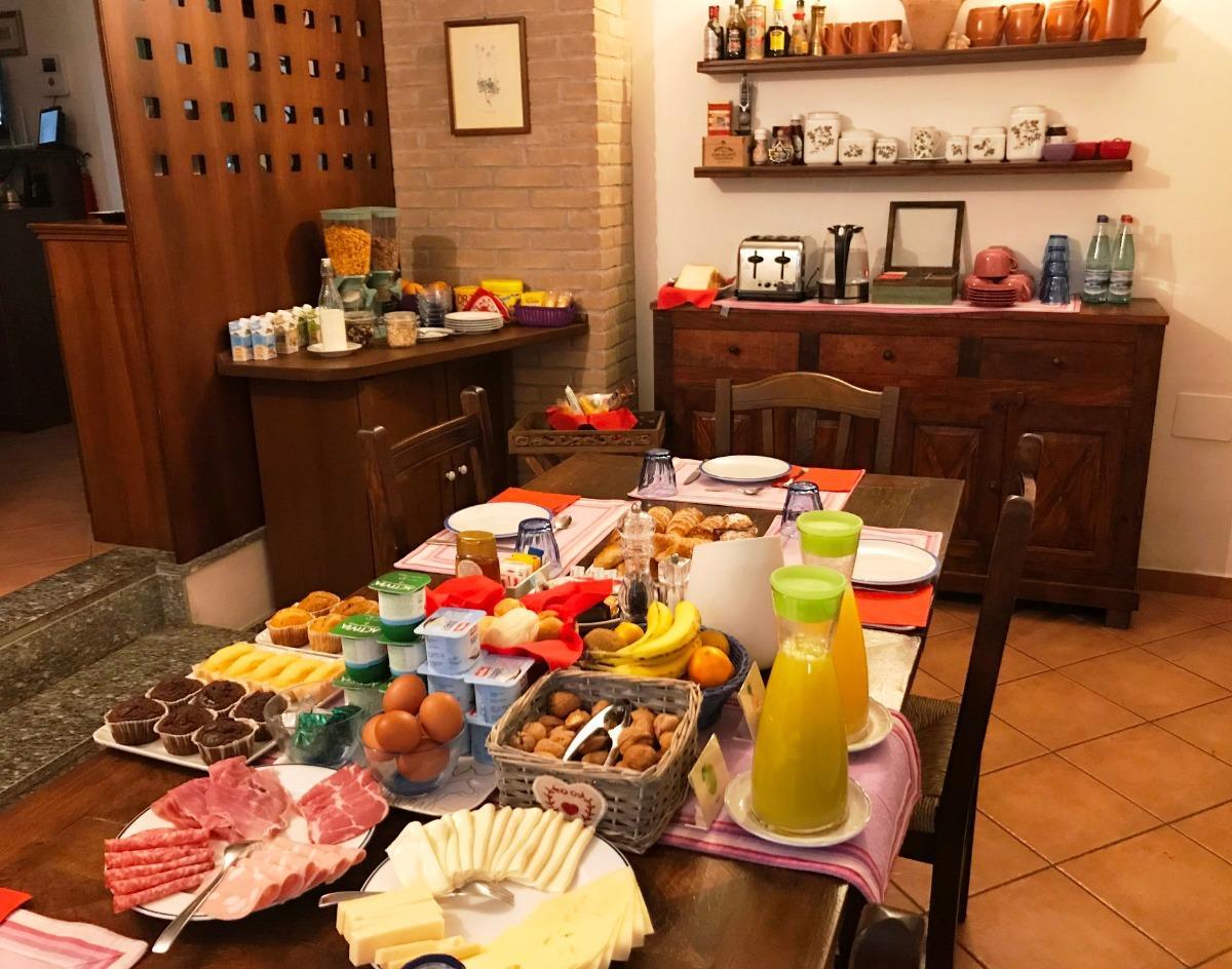 La colazione di CASA VIOLETTA B&B