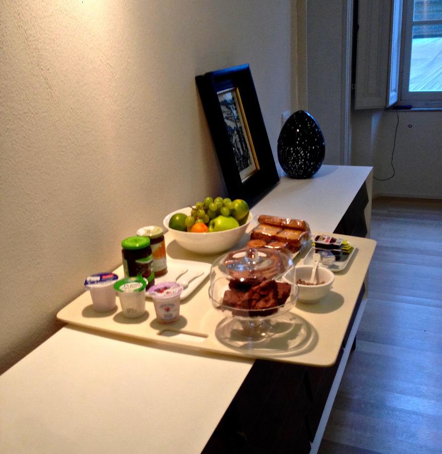 La colazione di B&B A PARMA DUOMO