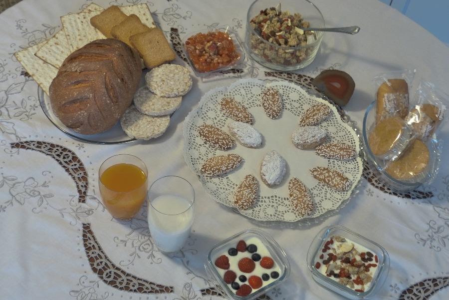 La colazione di B&B AMETISTA