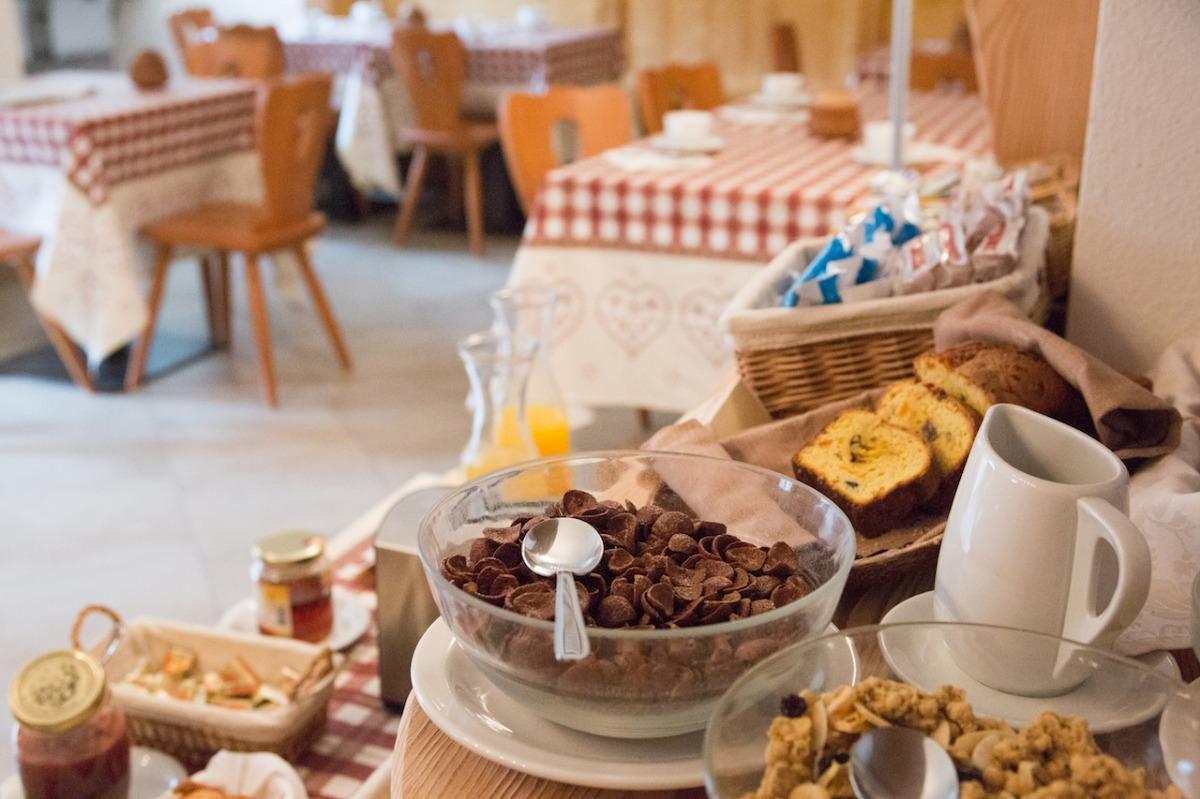 La colazione di RÉSIDENCE CHÂTEAU ROYAL