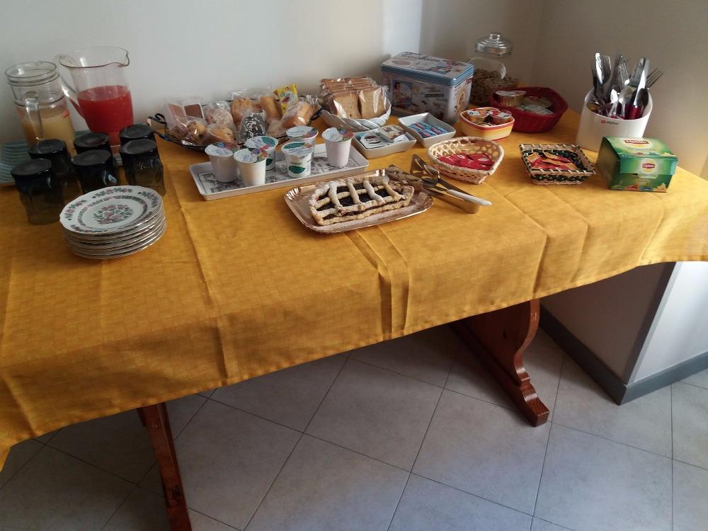 La colazione di B&B CANTA NAPOLI