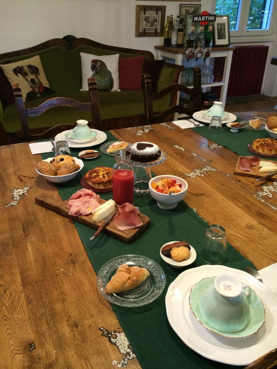 La colazione di B&B ATMOSFERA DI STAGIONE