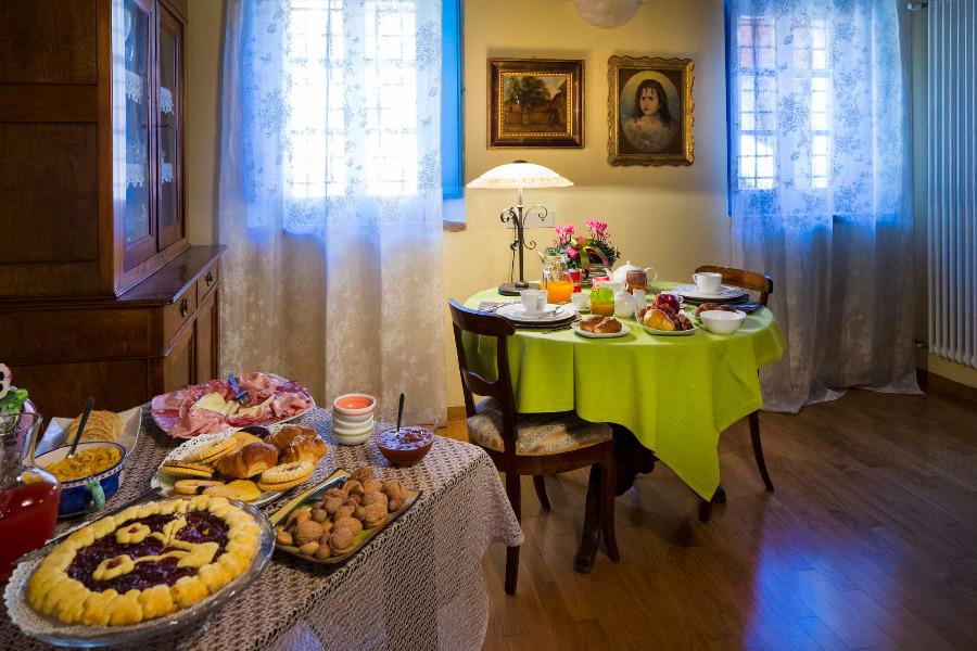 La colazione di A CASA DA NOI