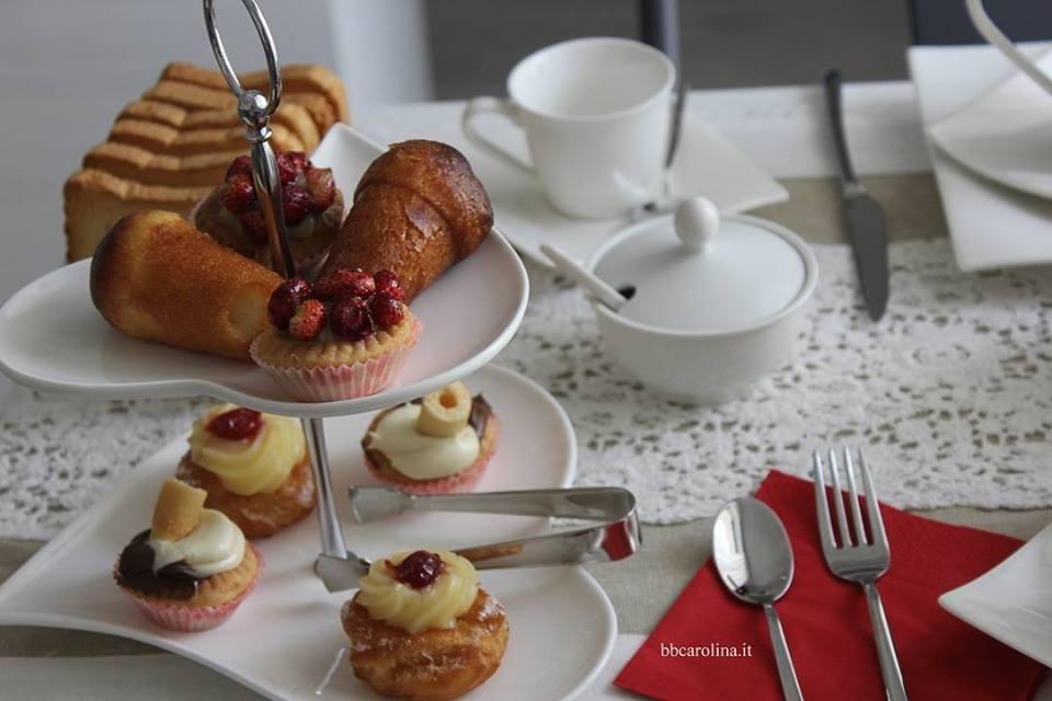 La colazione di B&B CAROLINA