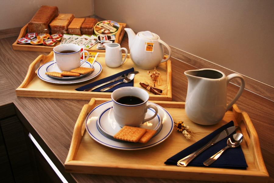 La colazione di MILTONTRE GUEST HOUSE