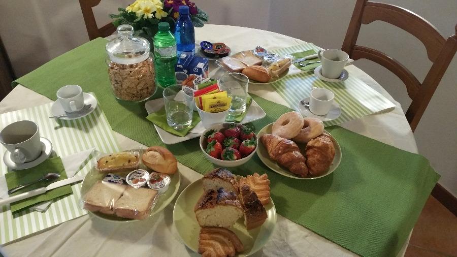 La colazione di LA CASETTA DI BEN