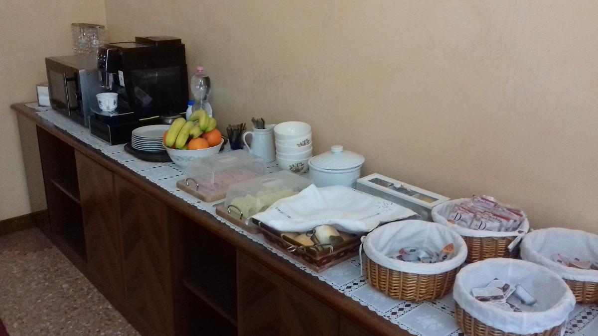 La colazione di VILLA CA' D'ORO