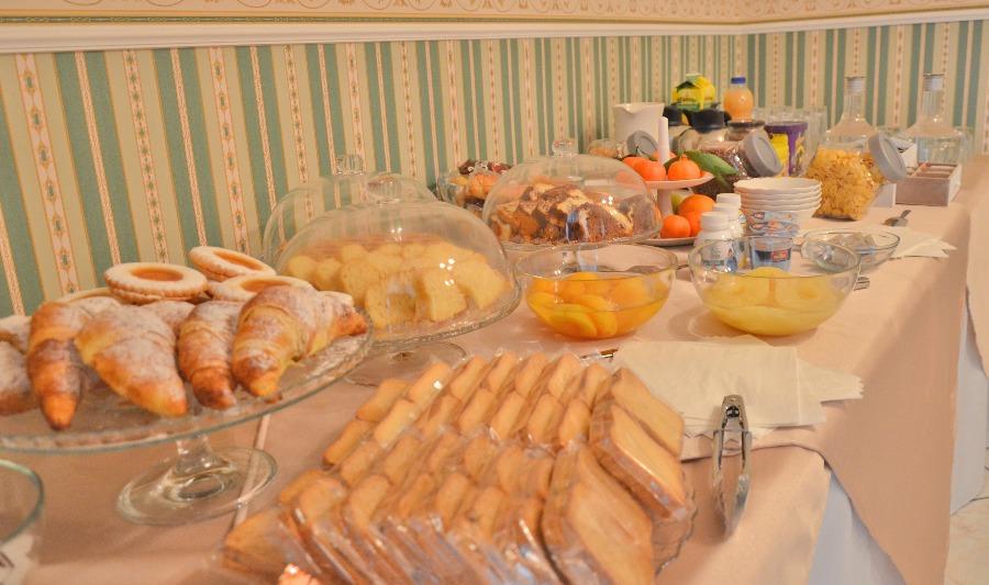 La colazione di B&B IL PANORAMA