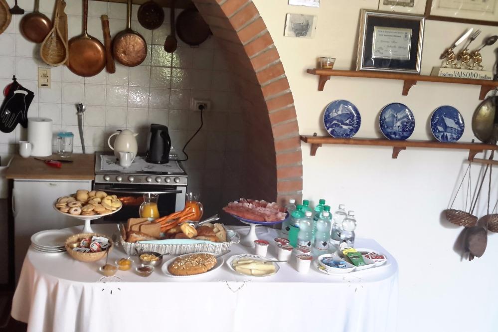 La colazione di VILLA VILLANI