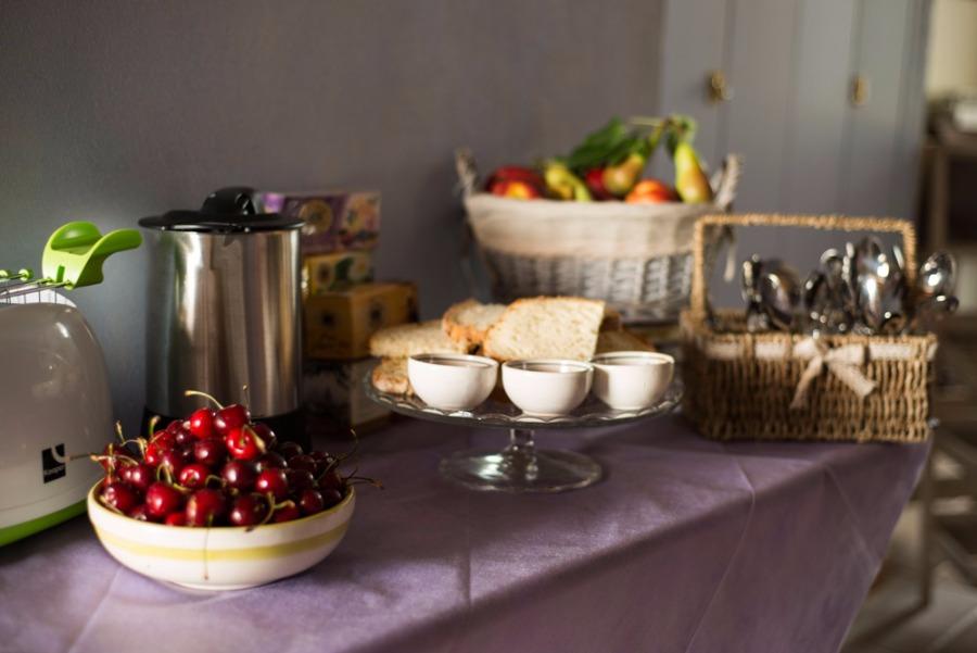 La colazione di LE TERRAZZE DI SERRANOVA