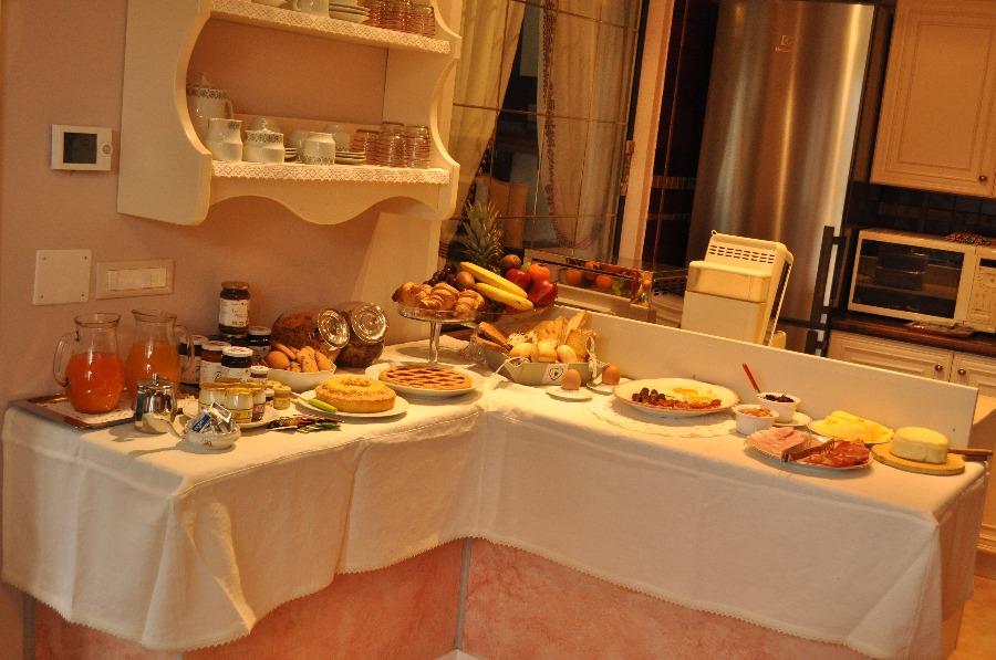 La colazione di B&B LA PESCADORA