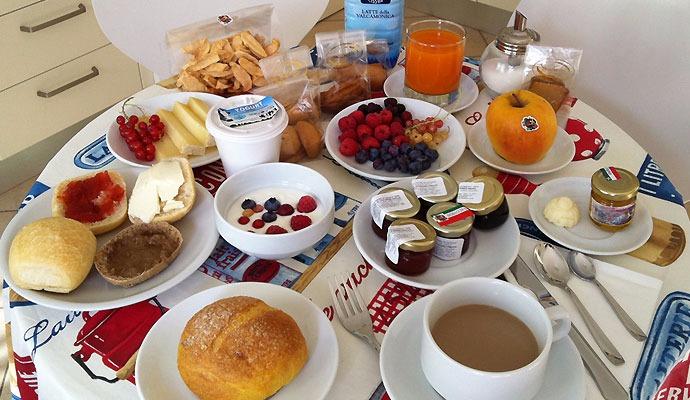 La colazione di CENTRAL TOMA