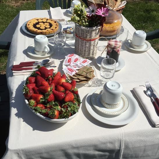 La colazione di LA LOCANDA DEL TEVERE