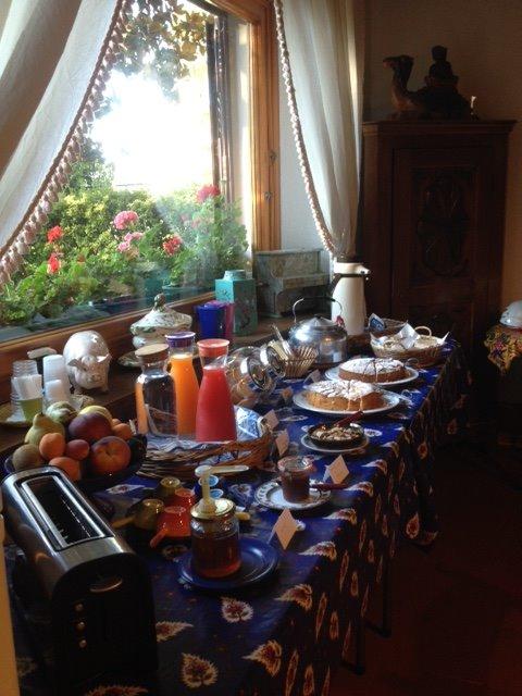 La colazione di PODERE LA PIANA