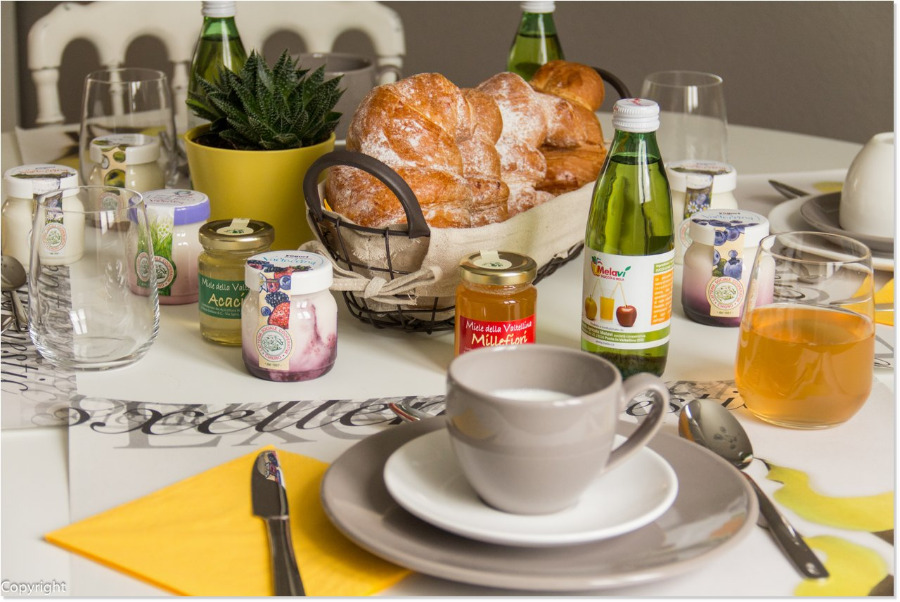La colazione di B&B IL TOCCO