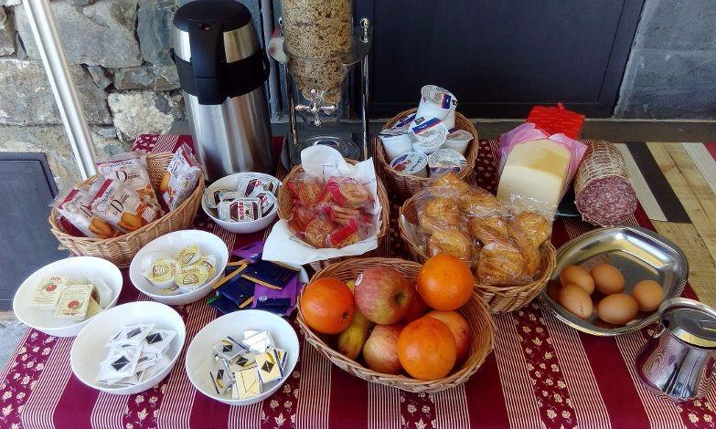 La colazione di I LECCI DI SOVIORE
