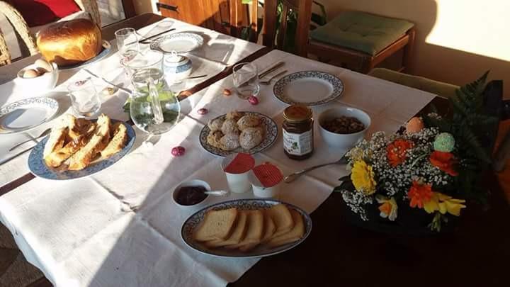 La colazione di B&B LE DOLCI NOTE